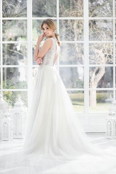 suknia ślubna TO-899T tył