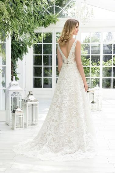 suknia ślubna TO-900T tył
