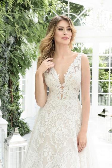 suknia ślubna TO-900T zbliżenie