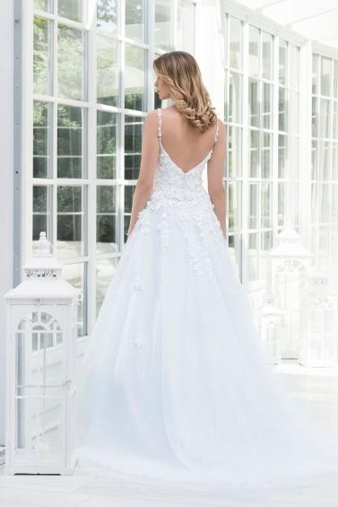 suknia ślubna TO-919T tył