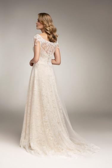 suknia ślubna TO-926T tył