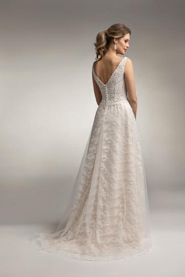 suknia ślubna TO-928T tył