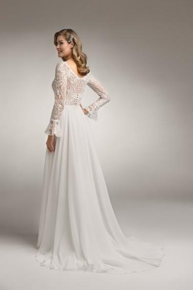 suknia ślubna TO-944T tył