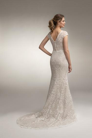 suknia ślubna TO-958T tył