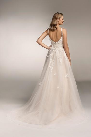 suknia ślubna TO-963T tył