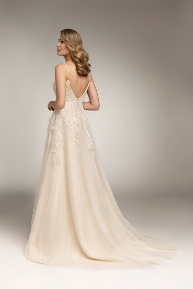 suknia ślubna TO-978T tył