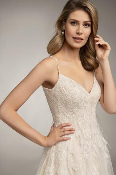 suknia ślubna TO-978T zbliżenie