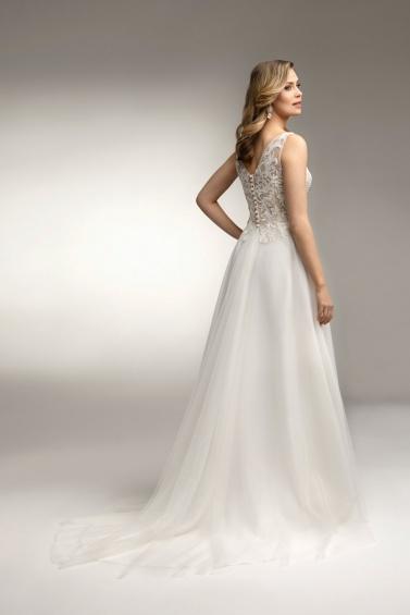 suknia ślubna TO-983T tył