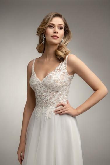 suknia ślubna TO-983T zbliżenie