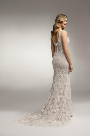 suknia ślubna TO-988T tył