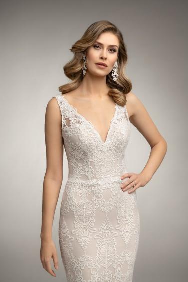 suknia ślubna TO-988T zbliżenie