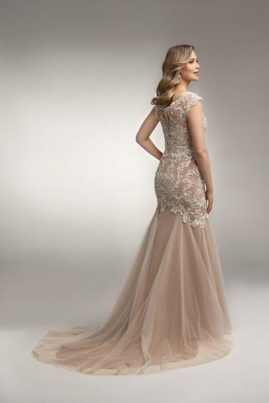 suknia ślubna TO-993T tył