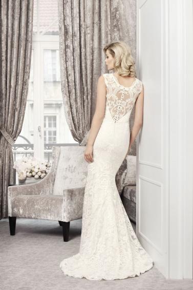 suknia ślubna TO-720T tył