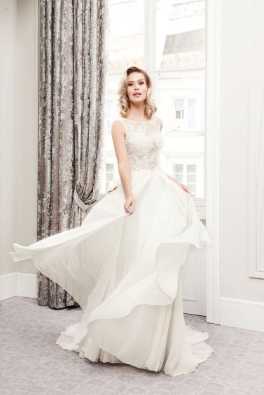 suknia ślubna TO-752T zbliżenie