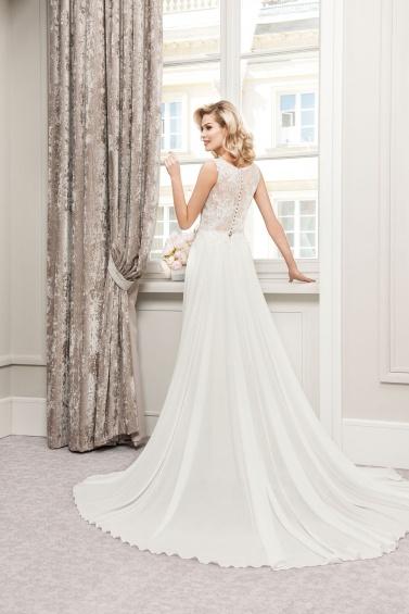 suknia ślubna TO-752T tył