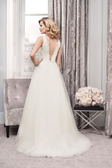 suknia ślubna TO-786T tył